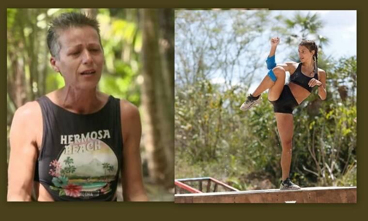Survivor: «Χείμαρρος» η Σοφία Μαργαρίτη – Δίνει στεγνά την Μαριαλένα!