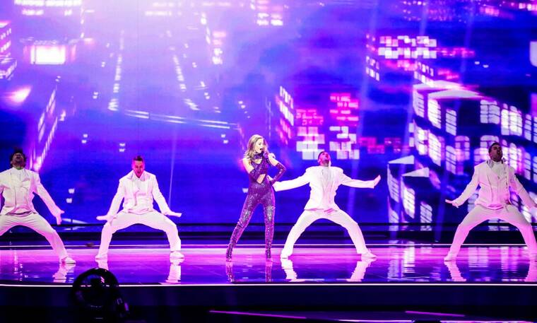 Eurovision 2021 Τελικός: H Στεφανία ξεσήκωσε την Ευρώπη με το Last Dance!