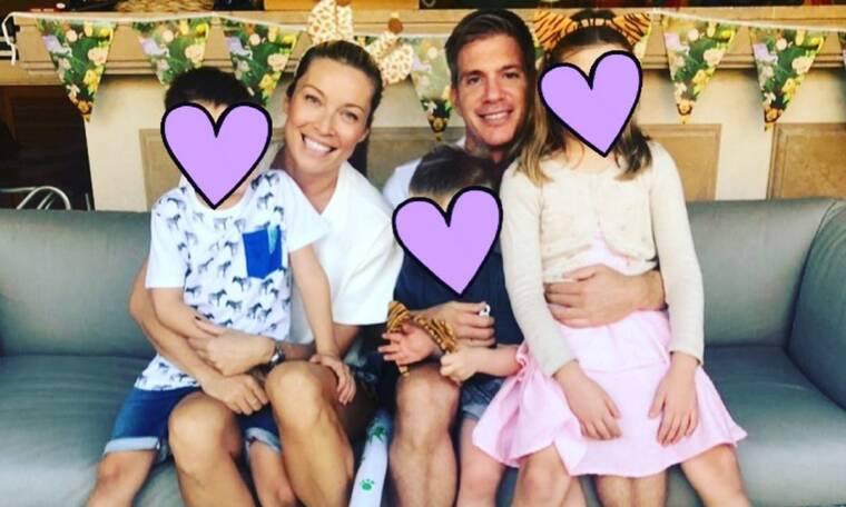 Μαριέττα Χρουσαλά: Η νέα φωτογραφία με τα τρία της παιδιά είναι απίθανη