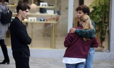 GNTM: Ηρακλής-Μαρινέλα: Δεν κρύβουν πια τον έρωτά τους! Οι αγκαλιές και η συνάντηση με τον Αιμιλιάνο