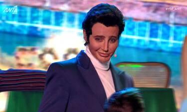 YFSF All Star: Απίστευτη η μεταμφίεση σε Elvis Presley! Έμειναν με το στόμα ανοιχτό!