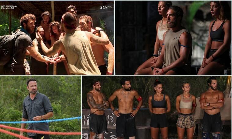 Survivor: Tα  highlights της βραδιάς, η επανεμφάνιση του Μπάρτζη και η νίκη της νέας ομάδας