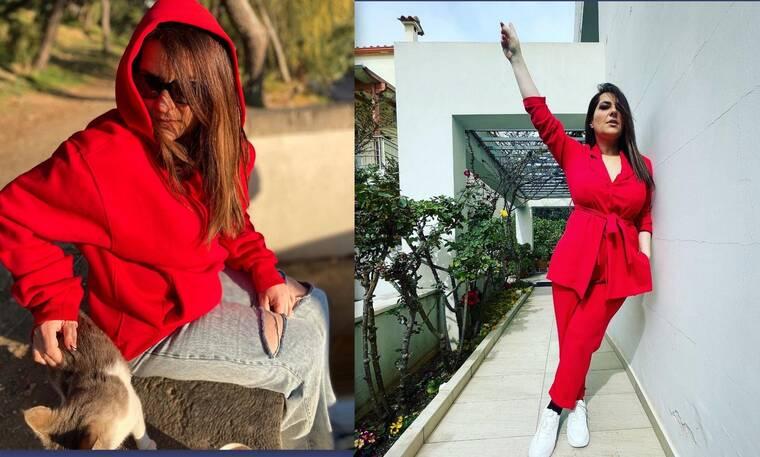 Κατερίνα Ζαρίφη: «Τα έχασαν» οι followers με τις φώτο της με ολόσωμη φόρμα – Πιο αδύνατη από ποτέ!