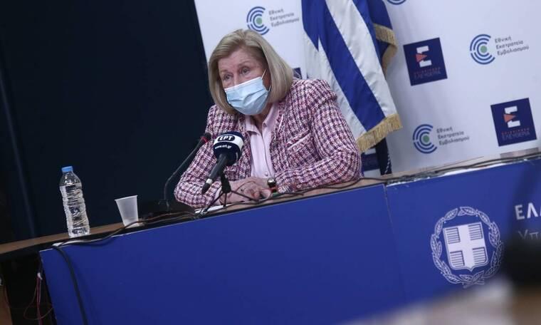 Κορονοϊός - Θεοδωρίδου: Μία δόση εμβολίου όσοι νόσησαν - Έως και 13 μήνες η προστασία