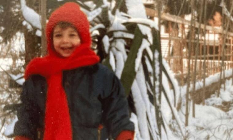Αναγνωρίζετε το παιδάκι στην φωτογραφία; Κι όμως, είναι γνωστός Έλληνας ηθοποιός!