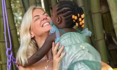 Χριστίνα Κοντοβά: Έκανε τα μαλλιά της, όπως της κόρης της Ada - Δείτε το νέο look της!