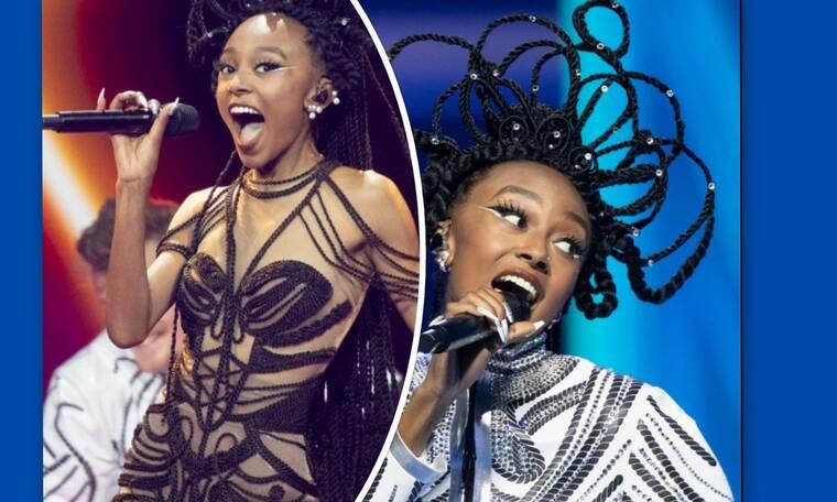 Eurovision 2021 Α' Ημιτελικός: Ισραήλ: Εκρηκτική εμφάνιση με μαλλιά που θύμισαν... τιάρα βασίλισσας