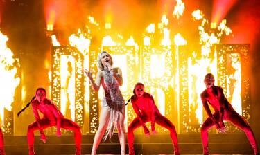 Eurovision 2021 Α' Ημιτελικός: Η πρώτη φωτό της Τσαγκρινού από το green room!