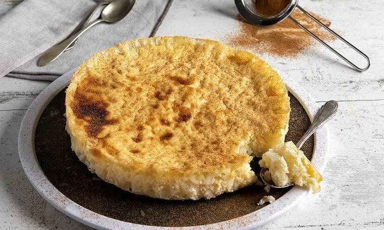 Θα τη λατρέψετε αυτή τη συνταγή! Ρυζόγαλο στον φούρνο από τον Άκη Πετρετζίκη!