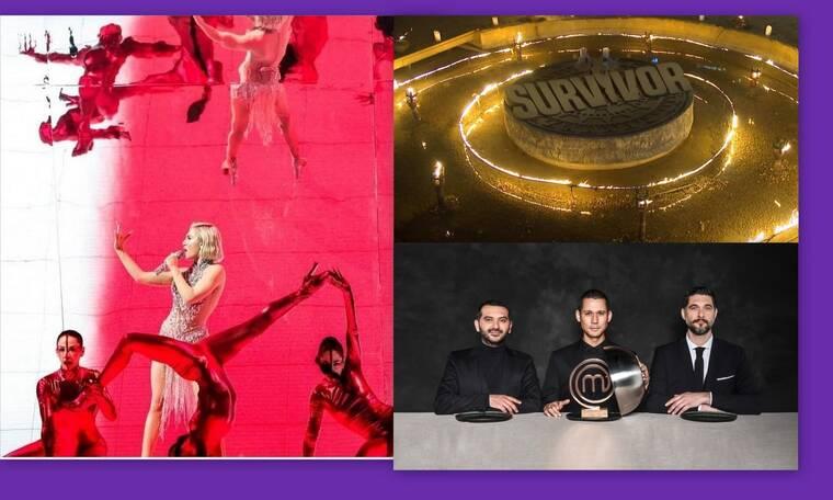 Τηλεθέαση: Eurovision 2021 - Survivor - MasterChef: And the winner is...