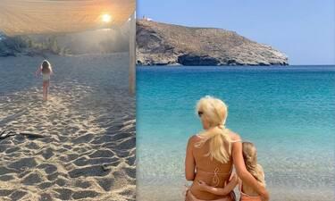 Ελένη Μενεγάκη: Δέκα φώτο με τη Μαρίνα της στην παραλία πoυ σίγουρα δεν θέλεις να χάσεις!