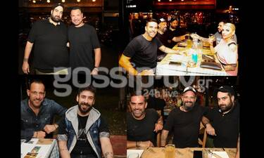 """Επώνυμες παρουσίες στο εστιατόριο του """"MasterChef"""" Σταμάτη Κωβαίου (exclusive pics)"""