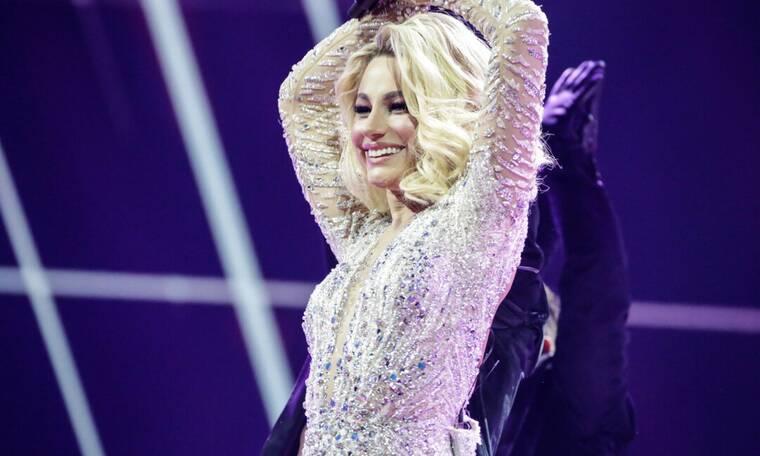 Eurovision 2021 Β' Ημιτελικός: Μολδαβία: Με άρωμα Ελλάδας η εκρηκτική Natalia στη σκηνή