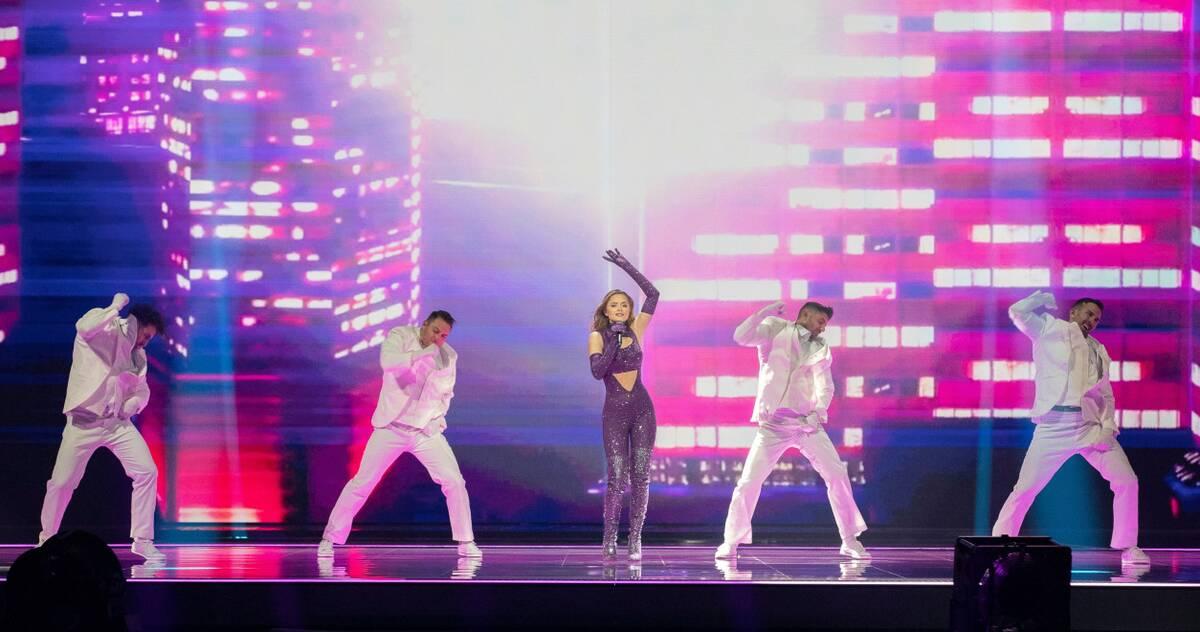 Eurovision 2021 Β' Ημιτελικός: Ελλάδα: Σαρωτική η Στεφανία! Η εντυπωσιακή της εμφάνιση