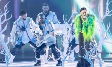 Eurovision 2021 Τελικός: Ουκρανία: Μετά την ταλαιπωρία και το μοριακό τεστ η Kateryna εντυπωσίασε