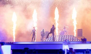 Eurovision 2021 Τελικός: Ιταλία: Οι Måneskin «έβαλαν φωτιά» στη σκηνή!