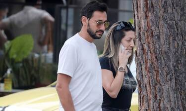 Πάνος Καλίδης: Δείτε πού και με ποιους τον απαθανάτισε ο φωτογραφικός φακός μαζί με τη γυναίκα του!