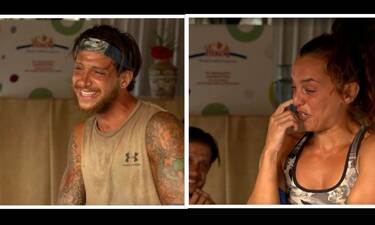 Survivor: Ξέσπασαν... σε κλάματα ο Μπόγδανος και η Καρολίνα - Δεν πίστευαν αυτά που άκουγαν!