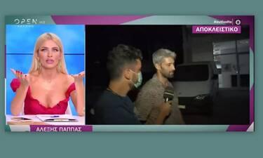 Ευτυχείτε: Μετά τις μπηχτές της Καινούργιου, ο Αλέξης της έστειλε φιλιά – Η επική ατάκα της on air