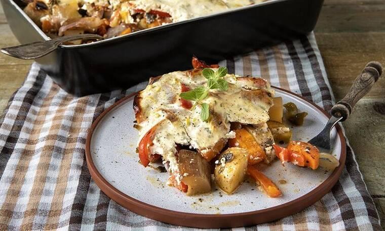Εύκολη και υγιεινή συνταγή: Mπριάμ με γιαούρτι από τον Άκη Πετρετζίκη