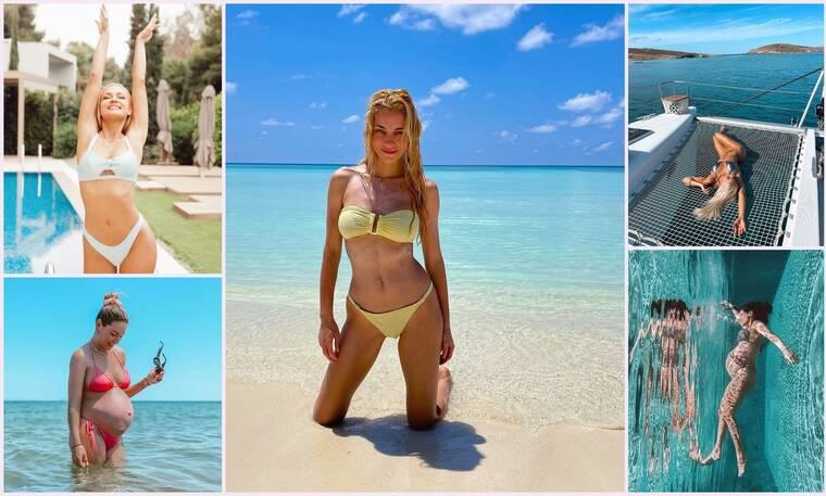 Είδαμε τα πρώτα summer posts των Ελληνίδων celebrities - Εντυπωσιακά μαγιό!