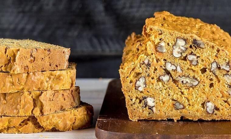 Γλυκό ψωμί πορτοκαλιού με μπαχαρικά από τον Άκη Πετρετζίκη!