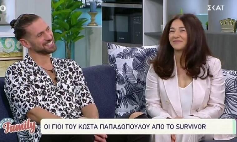 Survivor: Κώστας Παπαδόπουλος: Μας συστήνει για πρώτη φορά την σύζυγο και τα παιδιά του (video)