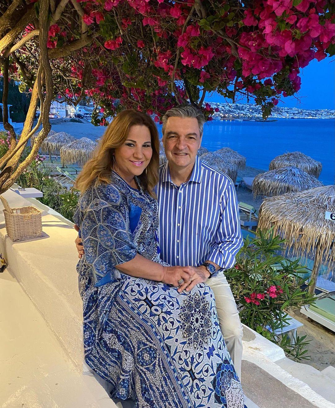 Μοιραράκη-Κοντούλης: Γιόρτασαν την επέτειο του γάμου τους στη Μύκονο!