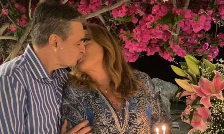 Μοιραράκη - Κοντούλης: Γιόρτασαν την επέτειο του γάμου τους στη Μύκονο!
