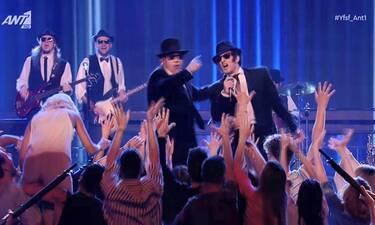 YFSF All Star τελικός: Οι... Blues Brothers προκάλεσαν χαμό στη σκηνή του σόου!