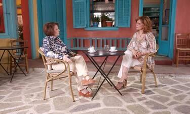 Η Πίτσα Παπαδοπούλου «Προσωπικά» με την Έλενα Κατρίτση