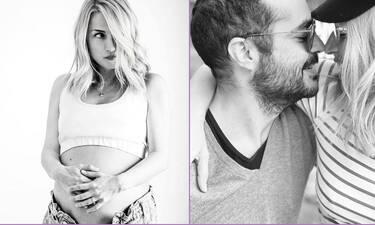 Μαρία Ηλιάκη: Γέννησε με καισαρική ένα υγιέστατο κοριτσάκι!