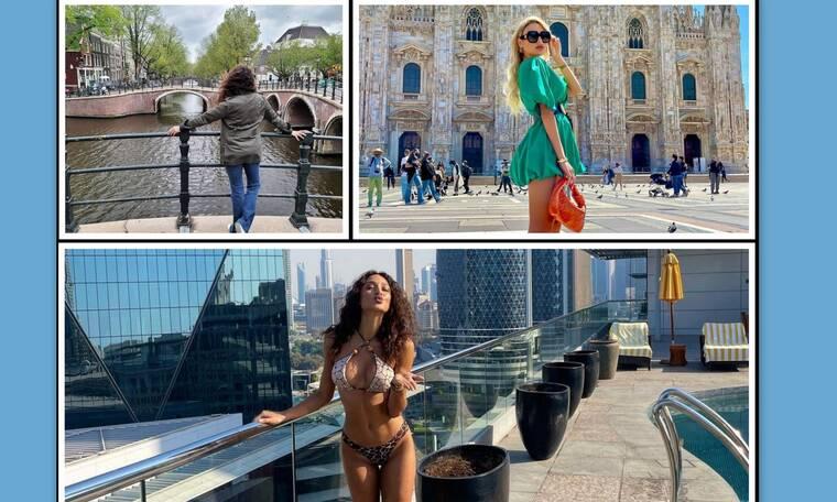 Με την άρση του lockdown οι celebs όπου φύγει φύγει! Από το Μιλάνο ως το Ντουμπάι!