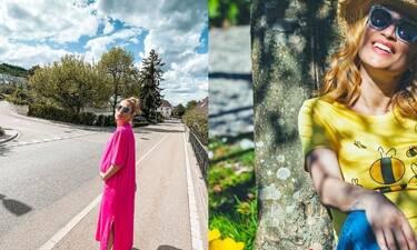 Μαρία Ηλιάκη: Η πρώτη φωτό με τη νεογέννητη κόρη της - Λιώσαμε! (Photos)