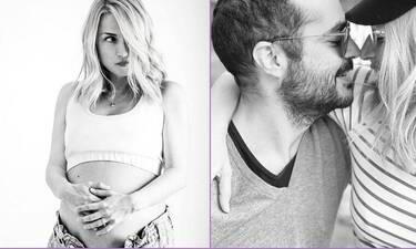 Μαρία Ηλιάκη: Τράβηξε φώτο τον Στέλιο Μανουσάκη να κρατά στην αγκαλιά του το μωρό τους!