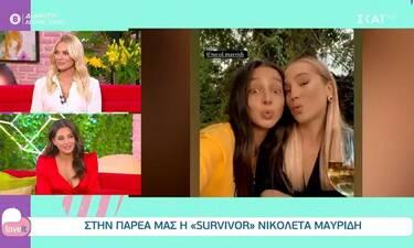Surivor: Η Νικολέτα αποκαλύπτει τον διάλογο που είχε με τη σύντροφο του Μπόγδανου