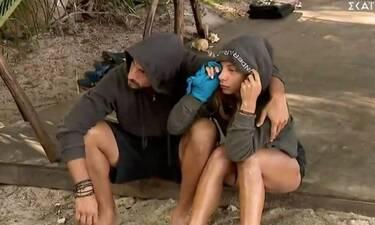 Survivor: «Είναι σκηνοθετημένος ο έρωτας μεταξύ  Μαριαλένας και Σάκη»