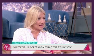 Φαίη Σκορδά: «Τρελάθηκε» όταν είδε τον αδυνατισμένο, Μιχάλη Ιατρόπουλο