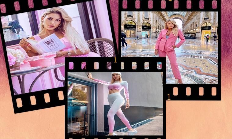Σου αρέσει το ροζ χρώμα; 9+1 outfits από την Αλεξάνδρα Παναγιώταρου για όλες τις περιστάσεις