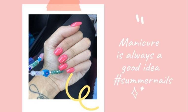 Αυτό είναι το πιο καλοκαιρινό manicure και ιδού πώς θα το φτιάξεις