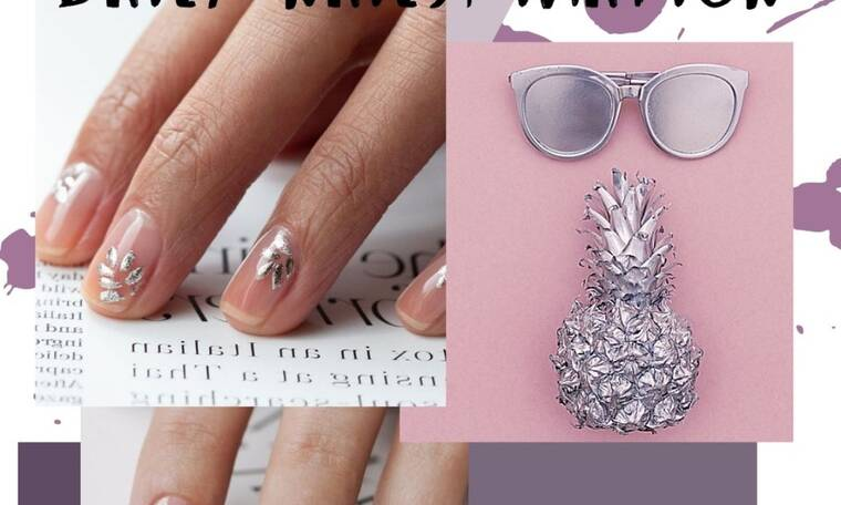 Ψάχνεις σχέδιο στα νύχια; Δες εδώ 15 ασημί μανικιούρ (photos)