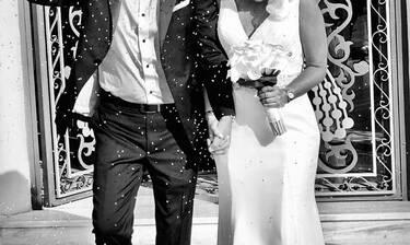 Χώρισαν, τα ξαναβρήκαν και παντρεύτηκαν χωρίς να το πάρει είδηση κανείς! Οι πρώτες φωτό του γάμου!