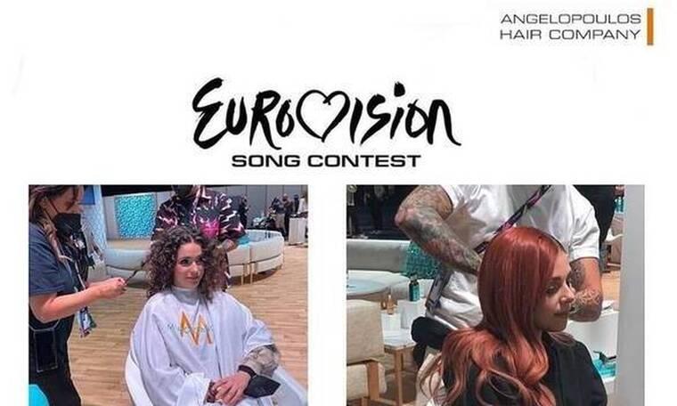 Η ομάδα της Angelopoulos Hair συμμετείχε στη Eurovision 2021!