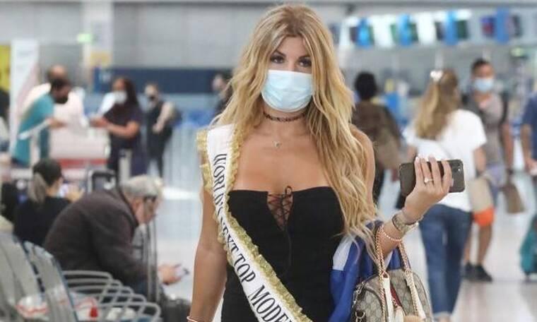 Αναστασία Τερζή: Αναχώρησε για Λίβανο για να εκπροσωπήσει την Ελλάδα στο «Miss World Next Top Model»