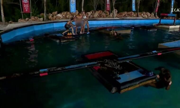 Survivor: Ο Ηλίας Μπόγδανος κέρδισε την ασυλία και από τη χαρά του «κατέβασε» το μαγιό του Κόρομι