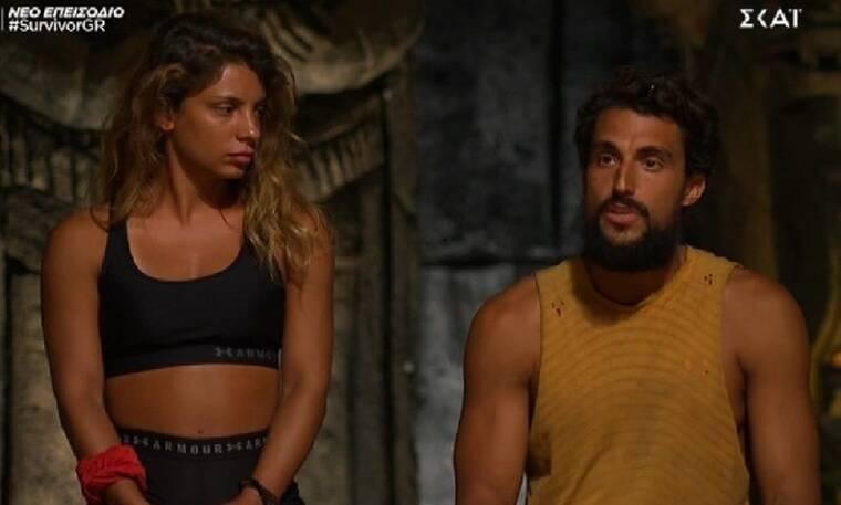 Survivor: Η Μαριαλένα είναι η τρίτη υποψήφια προς αποχώρηση - Ο Σάκης ζήτησε να πάρει την θέση της