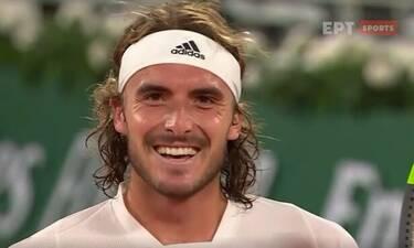«Σάρωσε» ο Στέφανος Τσιτσιπάς! Μεγάλη πρόκριση στους 4 του Roland Garros!