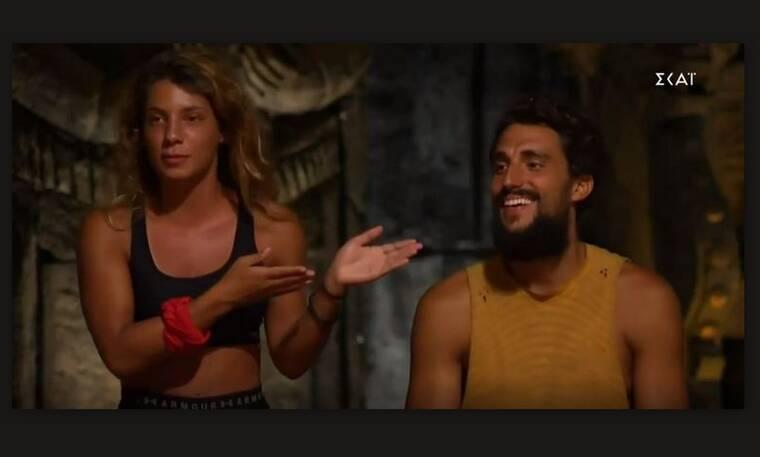 Survivor: Η ατάκα «φωτιά» του Σάκη και η απίστευτη αμηχανία της Μαριαλένας!