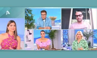 Happy Day: Με κορονοϊό η σύντροφος του Κώστα Φραγκολιά - Όλα όσα αποκάλυψε on air!