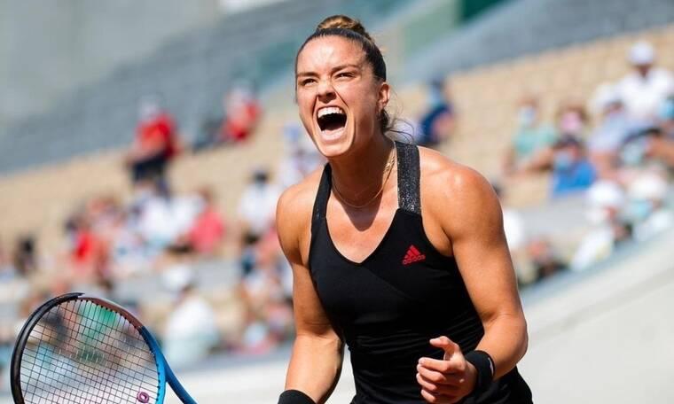 Roland Garros: Ιστορική πρόκριση Σάκκαρη - Στο πλευρό της ο Κωνσταντίνος Μητσοτάκης
